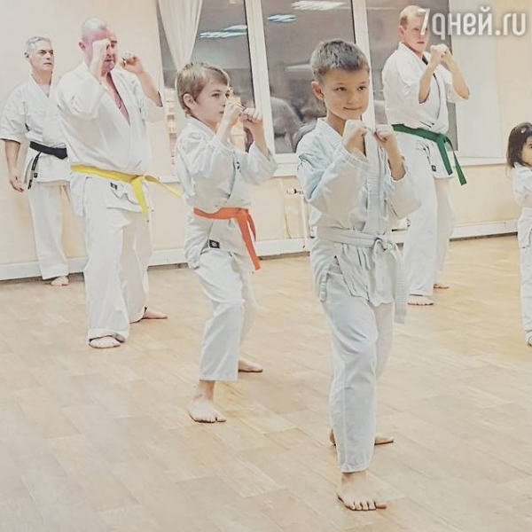 Алиса Гребенщикова гордится спортивными успехами сына
