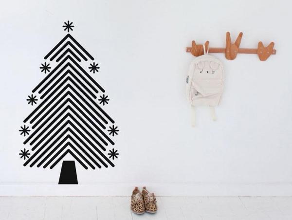 5свежих идей новогоднего декора интерьера