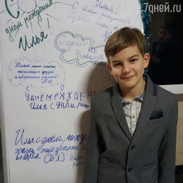 Нонна Гришаева показала подросшего сына