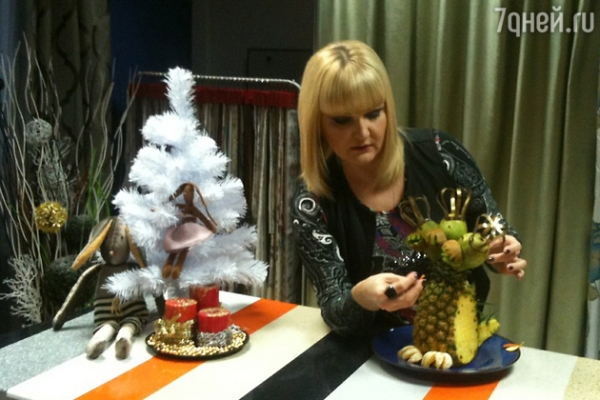 Простой новогодний пирог с черникой от Маргариты Суханкиной