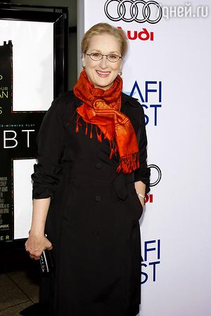 Мэрил Стрип удостоилась  номинации на «Золотой глобус» в 30-ый раз!