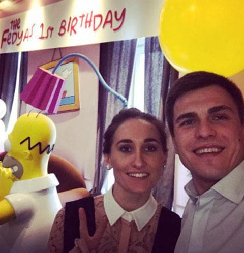 Анастасия Винокур отметила день рождения сына в стиле «Симпсонов»