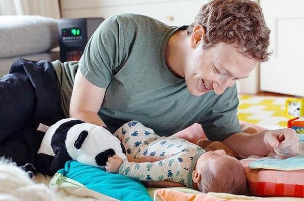 Марк Цукерберг отпраздновал первый день рождения дочери