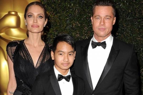 Старший сын Джоли просит ее опубликовать компрометирующие видео ссор с Питтом
