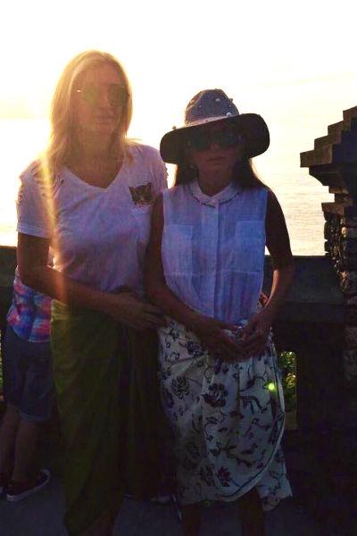 Муж Дианы Гурцкаи устроил ей сказку на Бали