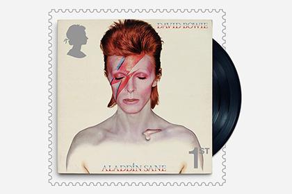 Изображение Дэвида Боуи появится на марках Королевской почты