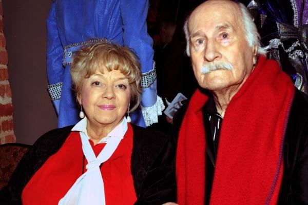 Скончалась вдова Владимира Зельдина