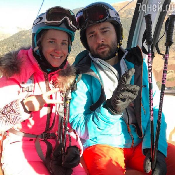 Юлия Ковальчук пострадала на горнолыжном курорте
