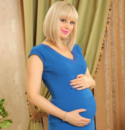 Беременная Натали раскрыла пол будущего малыша
