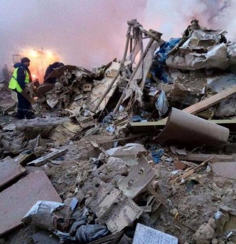 Жители Киргизии скорбят по погибшим в авиакатастрофе Boeing-747