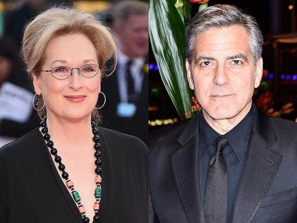 Джордж Клуни вмешался в конфликт Мерил Стрип и Дональда Трампа