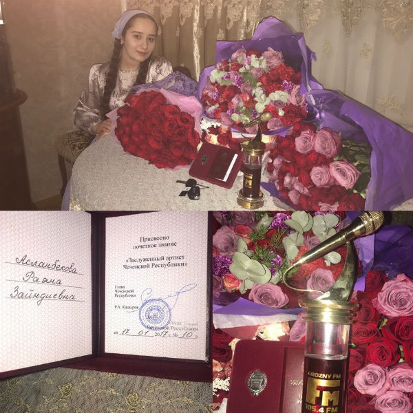 Звезда шоу «Голос. Дети» получила автомобиль от Рамзана Кадырова