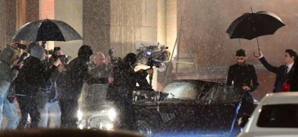 Зейн Малик записывает видео для фильма «На 50 оттенков темнее»