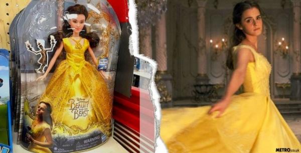 Эмма Уотсон стала певицей и куклой для «Красавицы и Чудовища» (Видео)