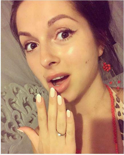 Нюша официально стала невестой