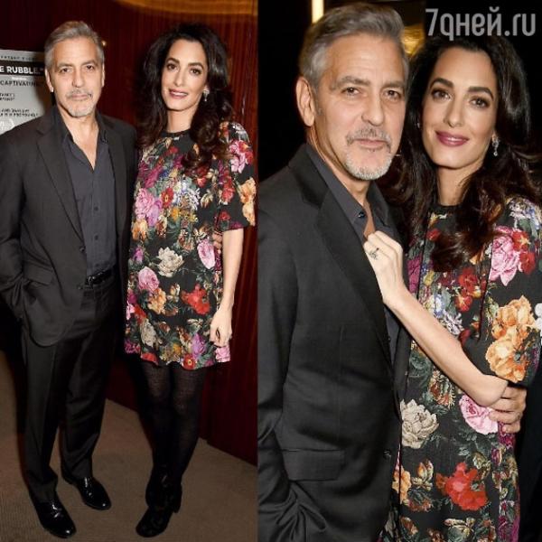 Амаль Клуни беременна!