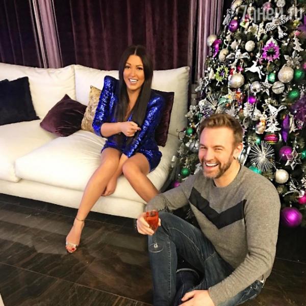 Ирина Дубцова провела ночь с бывшим мужем
