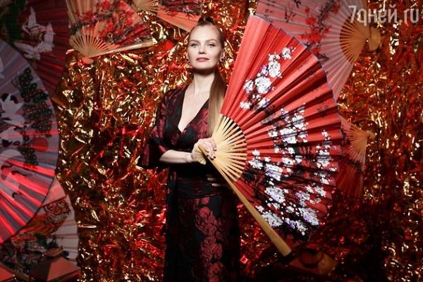 Юлия Барановская и Елена Кулецкая отпраздновали Китайский Новый год