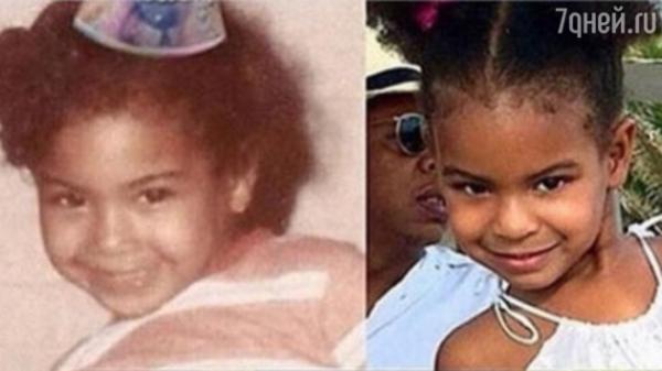 Дочка Бейонсе стала невероятно похожа на маму
