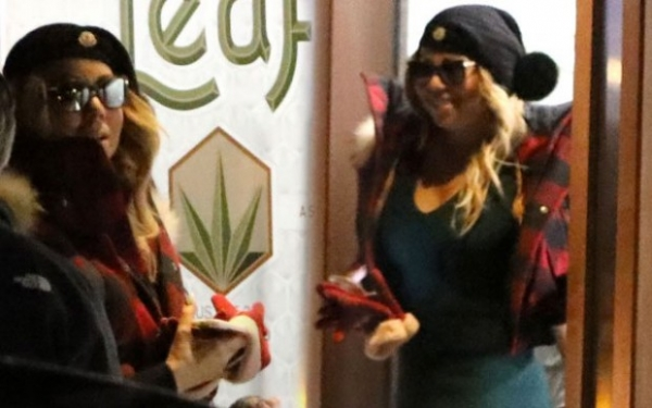 Мерайя Кери покупала марихуану перед срывом в Нью-Йорке