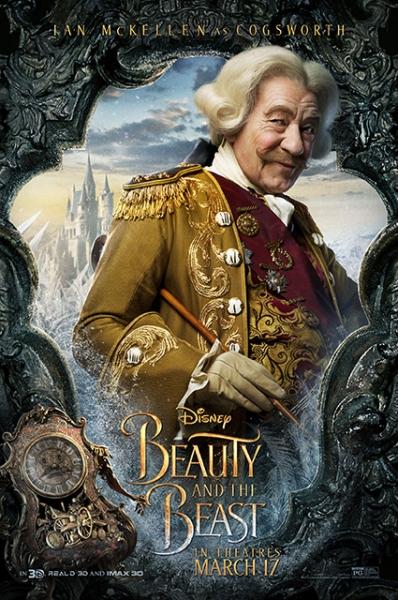 Diney опубликовали новые постеры фильма «Красавица и Чудовище»