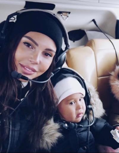 Беременная Оксана Самойлова намекнула на переезд в Нью-Йорк
