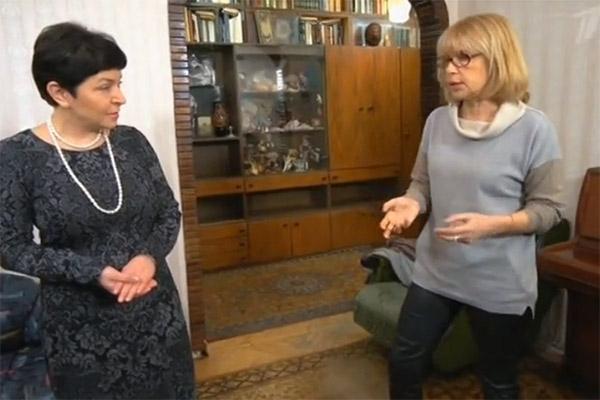 Вера Глаголева с шиком обустроила квартиру в центре столицы