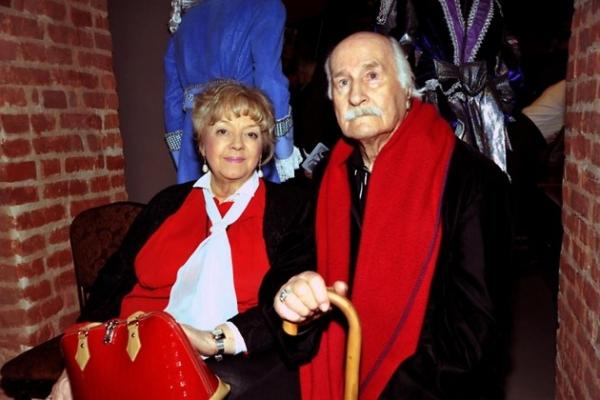 Жена Владимира Зельдина скончалась