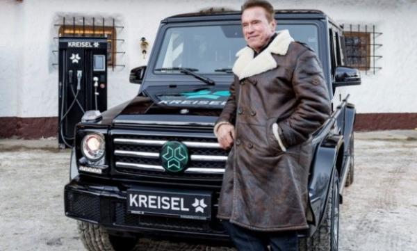 Для Шварценеггера создали единственный в мире электрический Mercedes-Benz