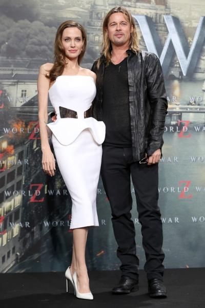 Первое совместное заявление Анджелины Джоли и Брэда Питта о разводе