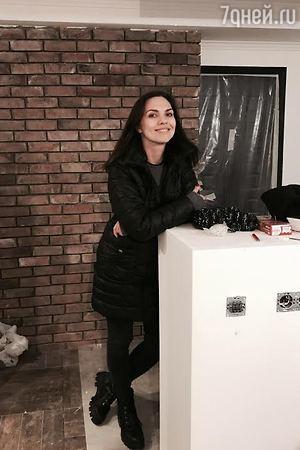 Надя Ручка заканчивает грандиозный ремонт