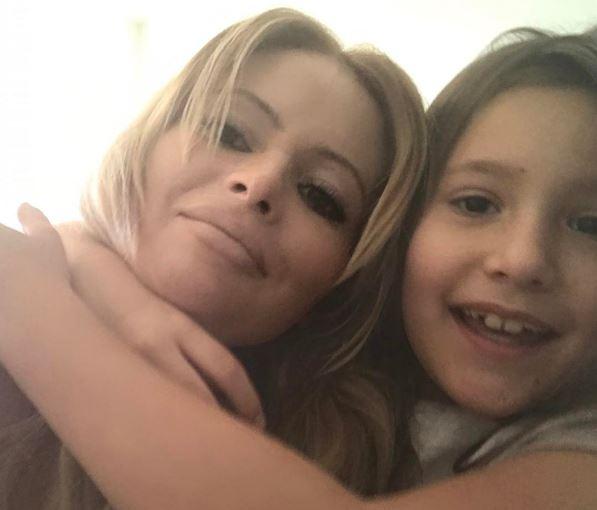 Дана Борисова написала заявление о похищении дочери