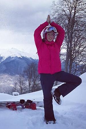 Григорий Лепс празднует Рождество на горнолыжном курорте