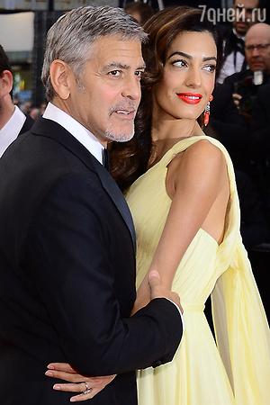 Джордж Клуни с женой готовятся к рождению своих близнецов
