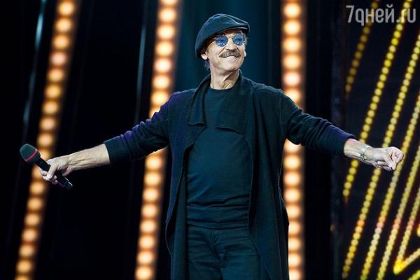 Михаил Боярский дебютирует в качестве ведущего «Минуты Славы»