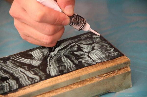 Антикварная шкатулка своими руками. Пошаговый мастер-класс