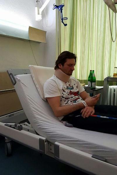 Эдгард Запашный проходит реабилитацию после операции на позвоночнике