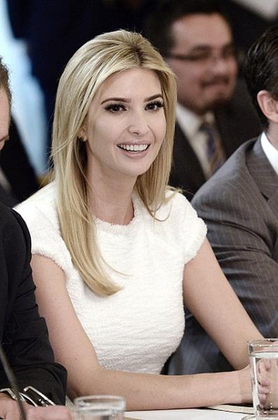Иванка Трамп получила личный кабинет в Белом Доме