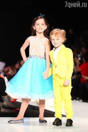Дети Кучеры и Гогунского стали моделями