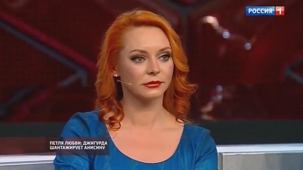 Марина Анисина расплакалась в телешоу