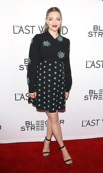 Аманда Сейфрид посетила премьеру фильма на последних месяцах беременности