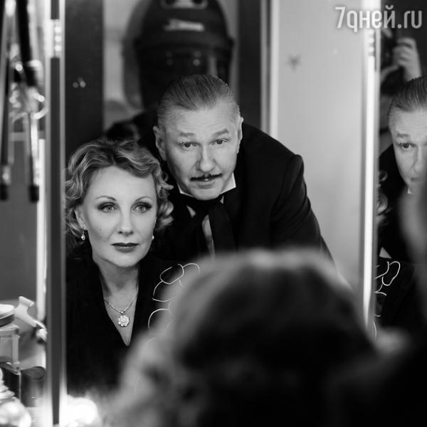 Невероятная Елена Яковлева в гриме а ля Марлен Дитрих