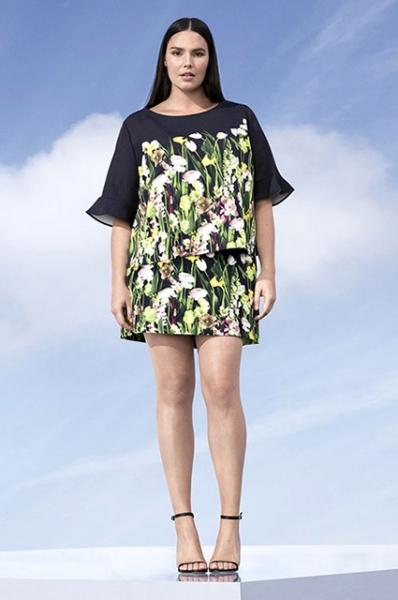 Виктория Бекхэм создала свою первую коллекцию для женщин с параметрами plus size