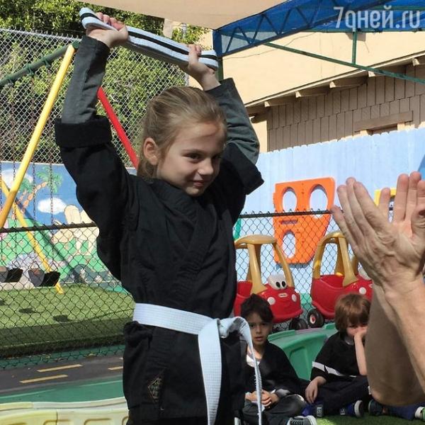 Младшая дочка Анны Седоковой добилась успеха в спорте