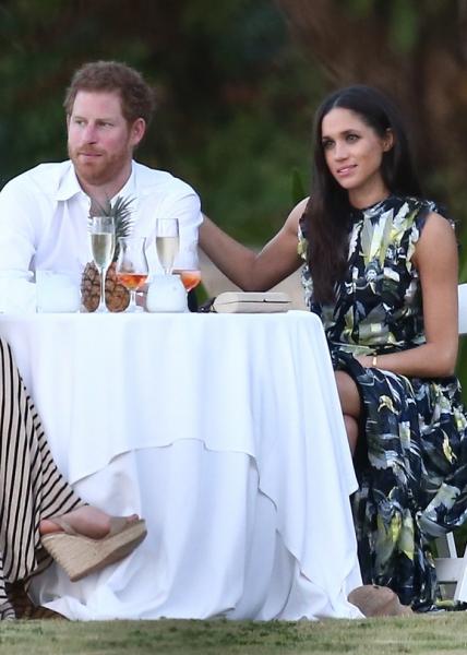 Принц Гарри и Меган Маркл проводят отпуск на Ямайке