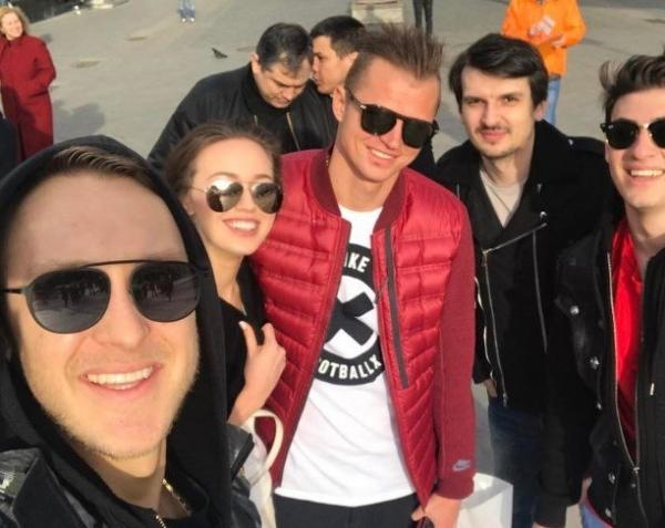 В сети опубликовано совместное видео и фото Дмитрия Тарасова и Анастасии Костенко