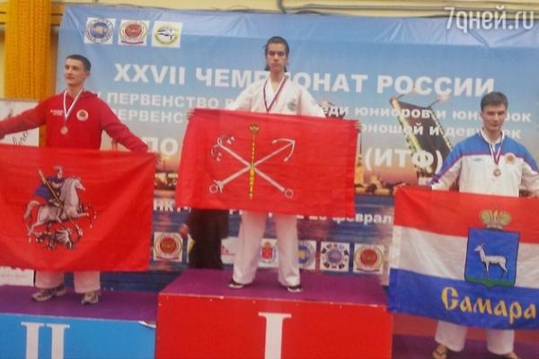 Старший сын Дениса Клявера стал чемпионом России
