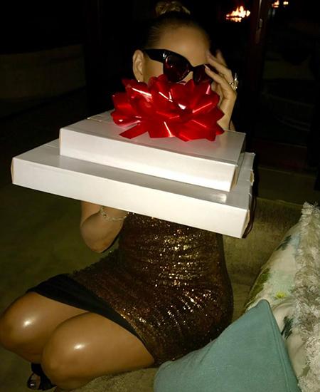 Мерайя Кери отпраздновала день рождения в компании 33-летнего возлюбленного