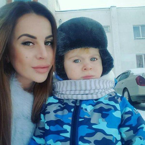 Ольга Ветер отдала сына на воспитание отцу