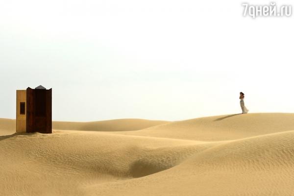 Эксклюзив: Зара попала в песчаную бурю